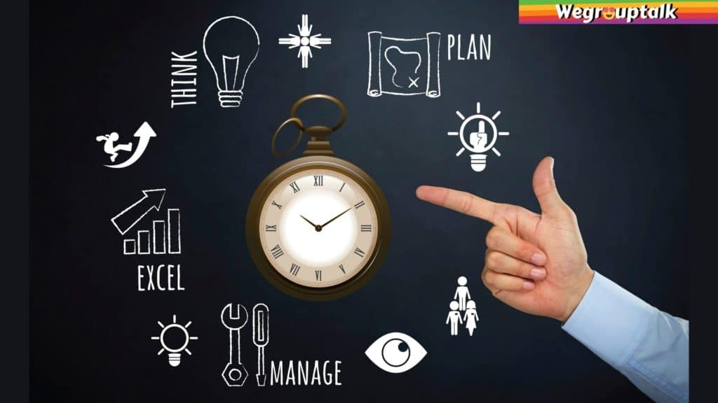 time management by prioritising them